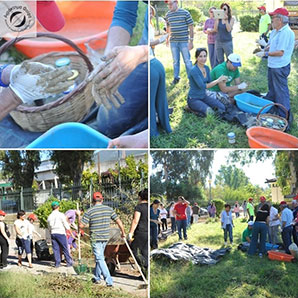 Δράση Αναδόμησης των κήπων του ΚΕ.Φ.Ι.ΑΠ. (ΚΕΚΥΚΑΜΕΑ) στην Τέντα
